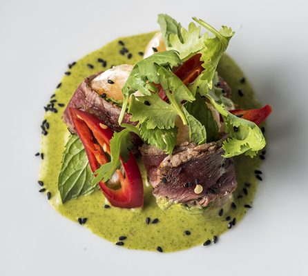 Tataki beef